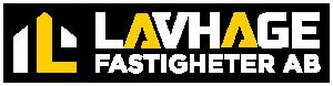 Lavhage fastigheter Logotyp